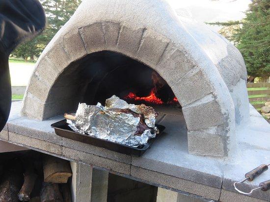 Carterton, نيوزيلندا: Pizza Oven