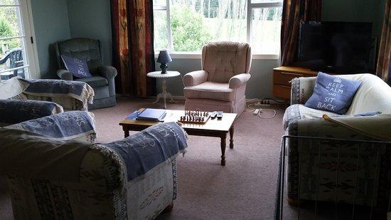 Fairlie, นิวซีแลนด์: Living room