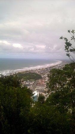 Mount Maunganui, Nya Zeeland: View of the township