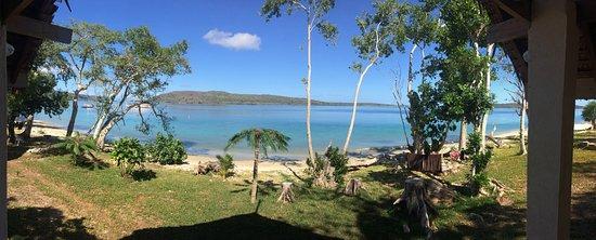 Port Havannah, Vanuatu: A panoramic view from the deck