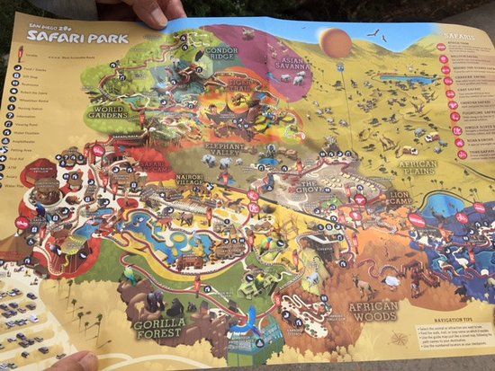 Escondido, Califórnia: Park Map