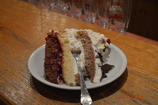 Landgasthof zur Lilie Black Forest Cake - Heaven on a plate & Black Forest Cake - Heaven on a plate - Picture of Landgasthof zur ...