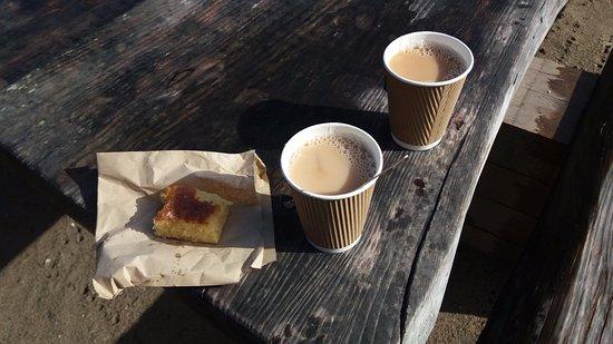 Portscatho, UK: Tea and Cake - Lovely !