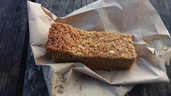 Portscatho, UK: Salted Caramel Flapjack - Lush!
