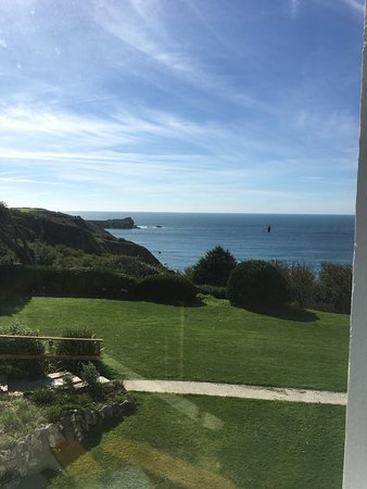 Mullion, UK: view from our bedroom