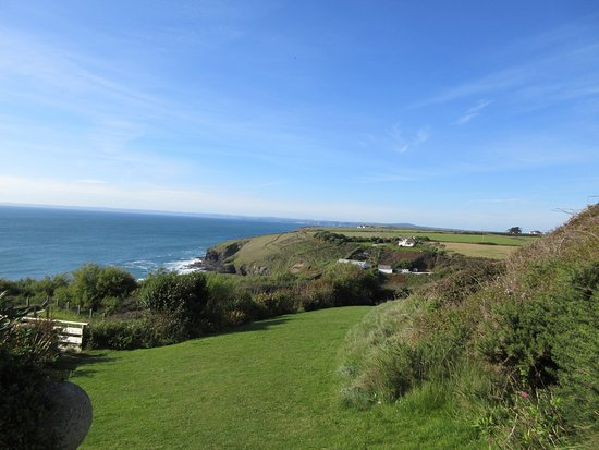 Mullion, UK: view from the gardens