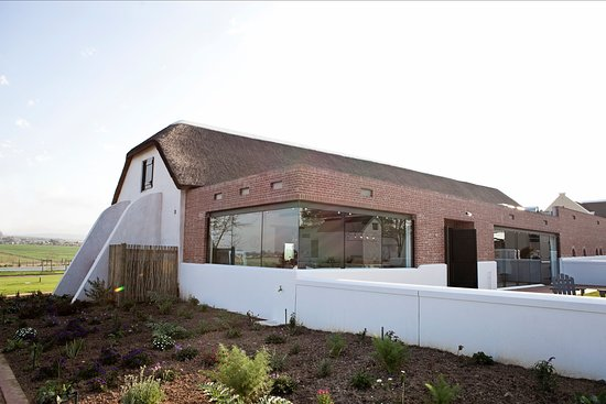 Durbanville, Sudáfrica: Newly build wine tasting area