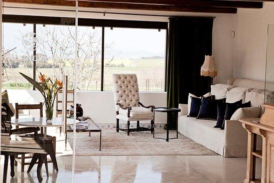 Durbanville, Νότια Αφρική: Lounge area