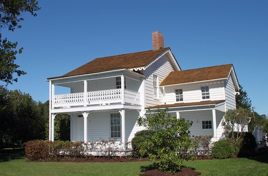 St. Michaels, MD: Picturesque Old Homes Moved Here to Serve as Offices