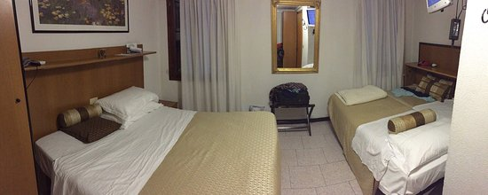 Albergo Marin: La chambre pour 4
