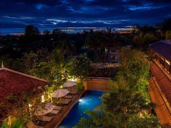 Siddharta Boutique Hotel: Swimming Pool from overlooking