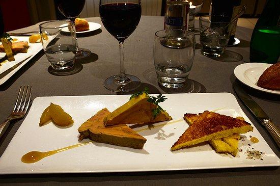 Saulges, France: Foie gras