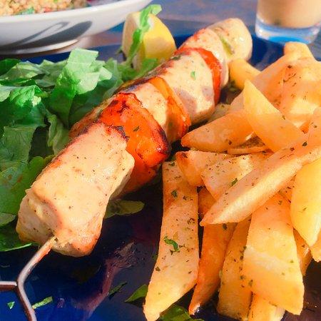 218 Degrees Cafe Restaurant: Chicken Souvlak
