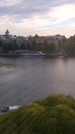 Haemeenlinna, Finlandia: Näkymä parvekkeelta