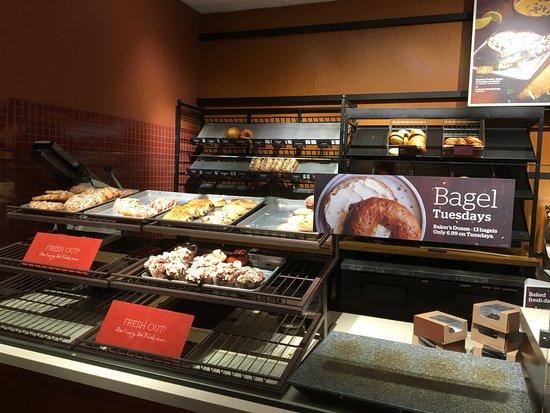 Panera Bread - bakery case
