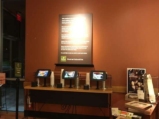 Fairport, Estado de Nueva York: Panera Bread - electronic ordering