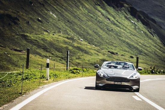 Kloten, Suisse : Aston in action