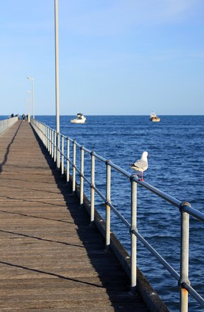 Marion Bay, Αυστραλία: Jetty