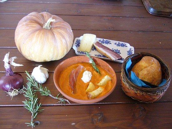 Vejano, Italia: Crema di zucca - proposta autunnale con nostre zucche