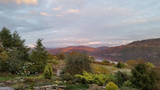 Lochcarron, UK: View from the sitting room