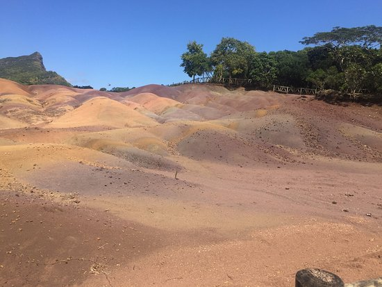 Chamarel: The 7 colored earths
