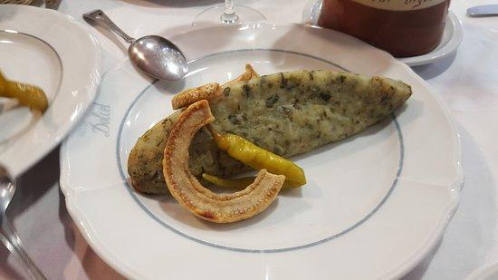 Alas, Spanien: La cuina de l Hostal Dolcet