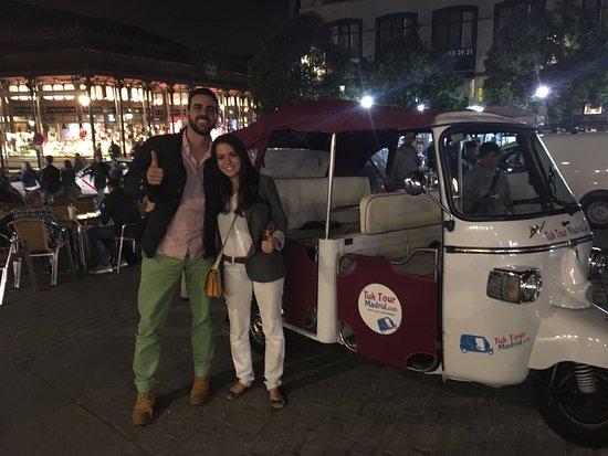 Tuk Tour Madrid: Nada mas terminar la actividad!