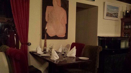 วอเตอร์วิลล์, ไอร์แลนด์: Prepared table