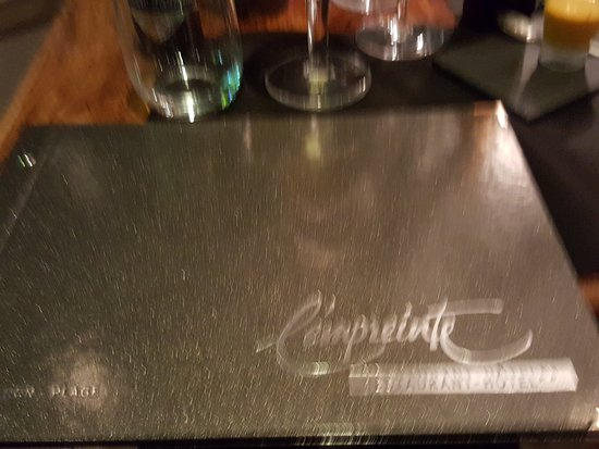 L'Empreinte Restaurant : 20161024_194847_large.jpg