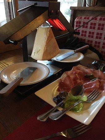 Le Grand-Bornand, Francia: Raclette pour deux !