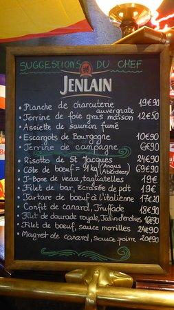 Le Plessis-Robinson, Frankreich: Le P.O c'est des spécialités de saison