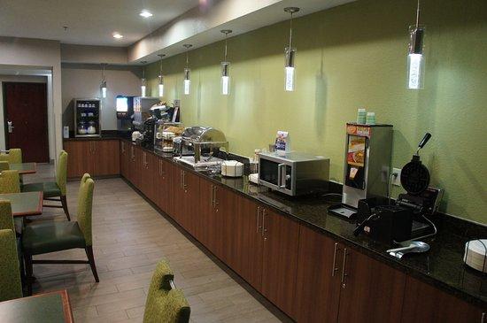 Seagoville, Teksas: Breakfast Area