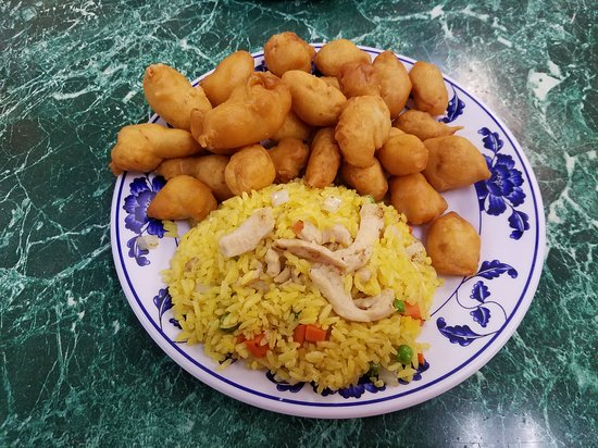 Wyomissing, Pennsylvanie : Sweet and Sour Chicken lunch special