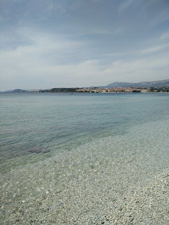 Podstrana, Croazia: La plage