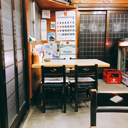 Katsuura, Japón: 店内テーブル席