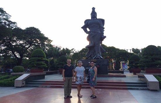 Hai Phong, Vietnam: Mr/Ms. Askholm and Ms, Elsa in Le Chan-woman general