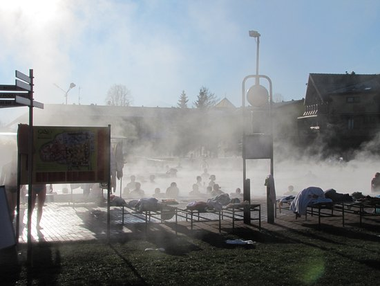 Bešeňová, Slovakia: vonkajsi bazen