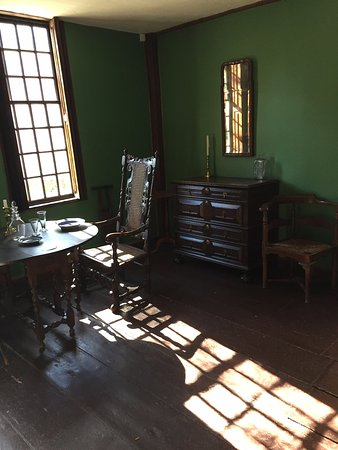 Lexington, MA: This is the very room where John Hancock and Samuel Adams were staying on April 18, 1775!