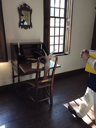Lexington, MA: George Washington wrote here!