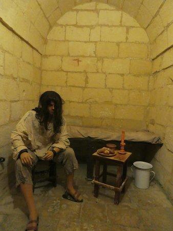 Victoria, Malta: The prison cell