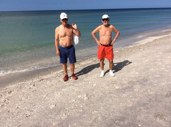 Englewood Beach : To ældre danske Strandløver