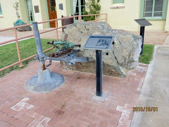 Jerome, AZ: Outside the entrance