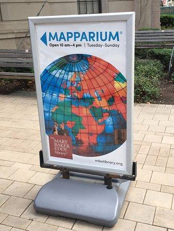 The Mapparium : Hidden treasure inside the Mary Baker Eddy Library