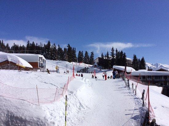 La Rosiere, Frankrig: Links de skilift