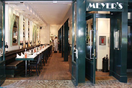 meyer 39 s restaurant bar frankfurt innenstadt. Black Bedroom Furniture Sets. Home Design Ideas