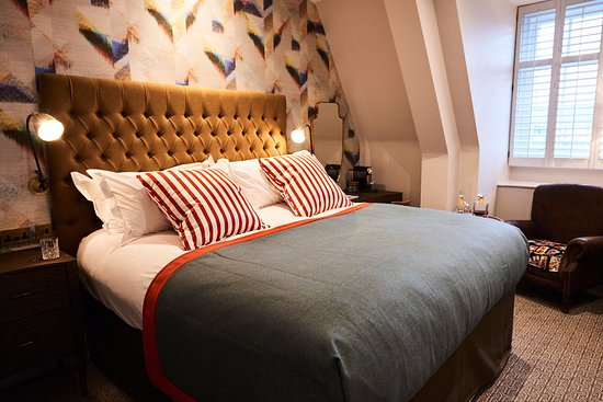 Bristol Harbour Hotel & Spa: Superior Double Bedroom