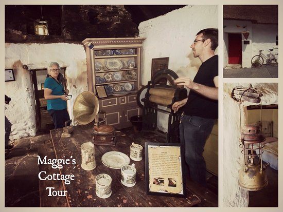 Oldcastle, İrlanda: Daily Tours of Maggie's Cottage