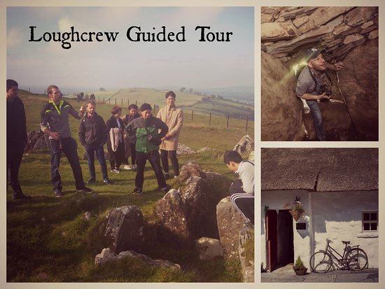 Oldcastle, İrlanda: Guided tours of Loughcrew