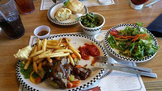 Klamath Falls, OR: never hungary