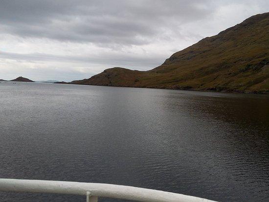 Leenane, Irlanda: KIllary fjord boat tours.. Une belle expérience